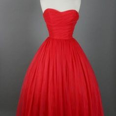Knee Length Prom Dresses,Red Prom ..