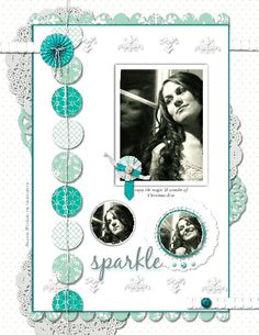 My Digital Studio (by Stampin' Up!) page by Heather Westlake with Christmas Banner Simply Created Kit elements ; http://www.stampinup.com/ECWeb/default.aspx