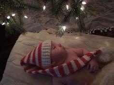 Christmas photo idea for a baby