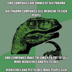 No GMO! Vicious cycle