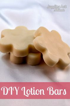 DIY Lotion Bars ...so quick and easy. Your skin will thank you! #lotionbars