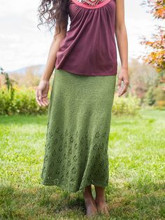 Napuka | Berroco Perfect in a cotton or linen yarn for summer when it is just too hot for pants!