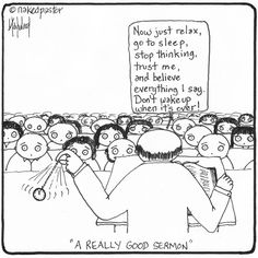 """Very informative and helpful NEW CARTOON """"How to preach a really good sermon!"""" http://nakedpastor.com/2015/07/how-to-preach-a-really-good-sermon/"""