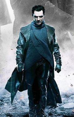 Benedict Cumberbatch- Star Trek into Darkness, villain fashion ensemble.