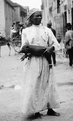 Piglet, Bridgetown, Barbados, 1906 | Flickr : partage de photos !