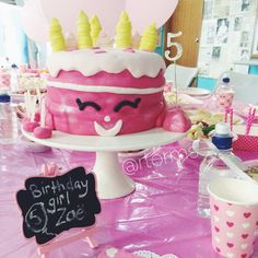 Shopkins wishes birthday cake for a special girl's birthday party #shopkins #shopkinscake #shopkinsparty