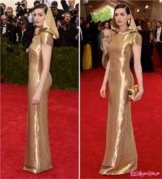 Baile Do Met 2015: Anne Hathaway