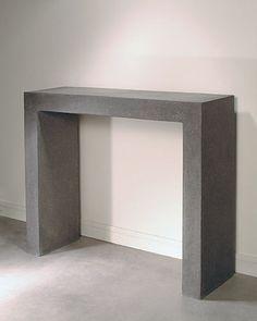 Francesco Passaiti:  TURNAROUND  Console Subli-concrete  100 x 100 x 35 cm  35…