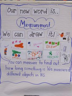 Joyful Learning In KC: Measurement In Kindergarten