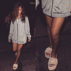"""Need these Puma slippers!!! ✔️ #Rihanna"""