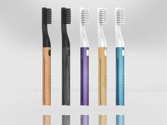 A helpful toothbrush for the modern consumer. Curtain Tie Backs Diy, Curtain Ties, Teeth Care, Dental, Tableware, Behance, Modern, Visual Diary, Industrial Design