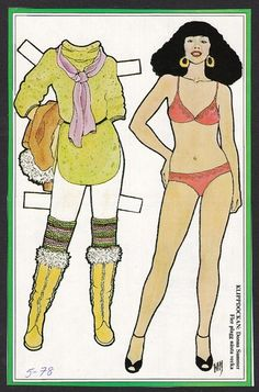 PD340 Donna Summer Paper Doll