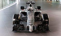 Nuevo McLaren MP4-29 de Fórmula 1 2014