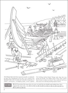Story of the Vikings Coloring Book (Boost Series) | Additional photo (inside page)