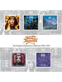5-cd The complete Roadrunner collection 1986-1990 por King Diamond  Precio 22,99 euro  EMP Rock mailorder España  -La más grande venta por correo de Merchandising Oficial Musica Metal / Hard rock / Heavy/ Gotico/ Rockabilly/ Punk ..de Europa.
