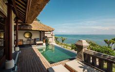 A Premier Ocean Villa at Four Seasons Jimbaran Bay in Bali