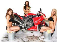 Washing Superbike Red Yamaha Bennetts