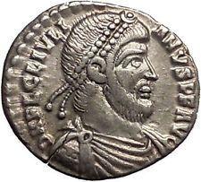 JULIAN II the APOSTATE 362AD Silver Siliqua Arles Ancient Roman Coin i53404 https://trustedmedievalcoins.wordpress.com/2016/01/24/julian-ii-the-apostate-362ad-silver-siliqua-arles-ancient-roman-coin-i53404/