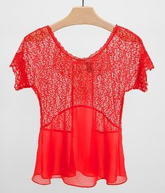 BKE Boutique Pieced Top