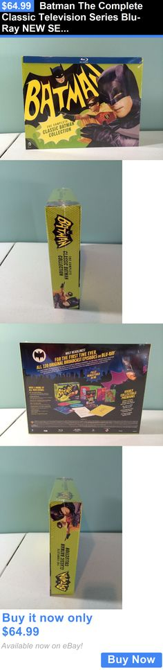 cds dvds vhs: Batman The Complete Classic Television Series Blu-Ray New Sealed BUY IT NOW ONLY: $64.99