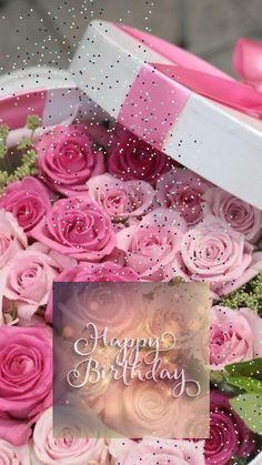 Happy Birthday Special Friend, Happy Birthday Wishes Photos, Happy Birthday Flower, Happy Birthday Video, Happy Birthday Girls, Happy Birthday Messages, Happy Bday Greetings, Beautiful Birthday Quotes, Birthday Card With Photo