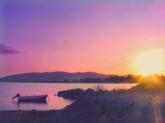 All Aglow in Lilac Sunset Dreams ~ Haraki, Rhodes • Greece •