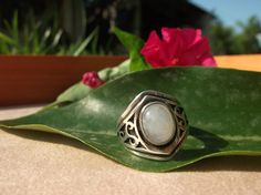 Rainbow Moonstone White Labradorite Sterling by ArtemisJewellery, €65.00