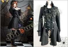 Gothic Rococo Provence Rose Manor Equestrian Royal Coat