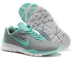 Save Up To Womens Nike Free TR Fit 3 Breathe Grey Jade Training Shoes. I  want nikes yo!