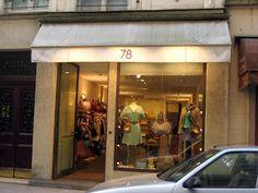 78 clothing store, Paris