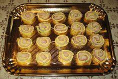 Ricetta Rotolini di frittata con prosciutto cotto e galbanino