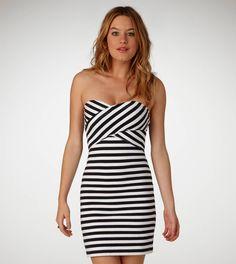 AE Striped Tube Dress
