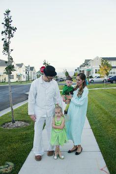 Peter Pan Family Themed Halloween Costume