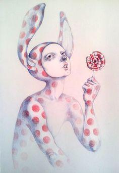 Can't resist the lollipop
