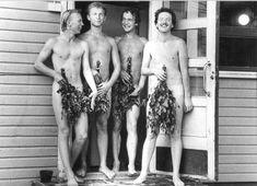 Swedish Sauna, Finnish Sauna, Sauna House, Ancient Greek, Bathing, Saunas, Skinny, People, Relax