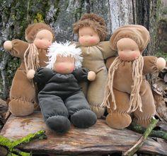 Knecht Ruprecht Waldorfdolls: Waldorf Cuddle Baby