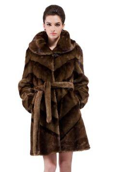 90s coat coat vegan art fur Art fur coat women fur coat winter coat vintage art fur brown coat midi coat
