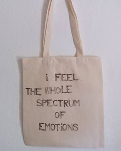Tote bag available. Hand stamped by yours truly.  Made out of pure need to let it out. As all my bags.  Price for this one (it's a #01 first one with this quote ever it's numbered on the other side) is 14. When this one is gone the price will be 17 if you order today. From tomorrow on it's 20. shipping So message me asap.  Love Anita  #3ptice #handstamped #madeinslovenia #emotions #emotion #abrahamhicks #spectrum #tote #totebag #uniquetotebag #quote #message #messenger