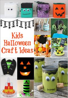 As an adult, I just adore making Halloween crafts, but as a child, Halloween was even more fun! Check out these great Halloween crafts for kids!