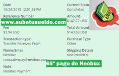 65º pago de Neobux