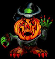 Spooky Halloween gifs | Scary Halloween Pumpkins Animated Gifs
