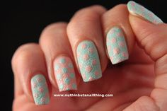 nail art with textured polishes