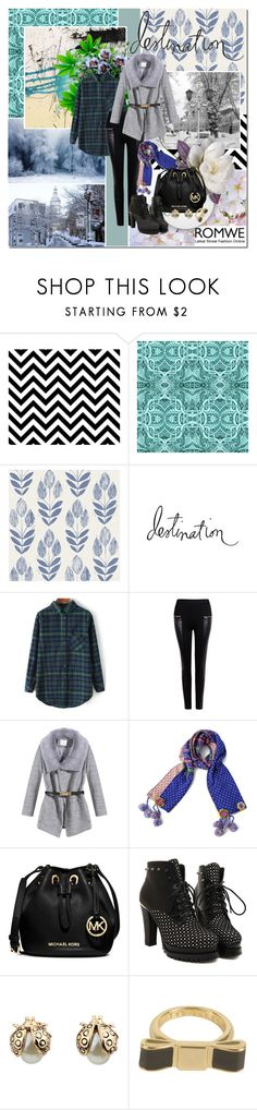"""Destination (22nd Jan 2015)"" by pilar-elena ❤ liked on Polyvore featuring Beacon, Heidi Swapp and MICHAEL Michael Kors"