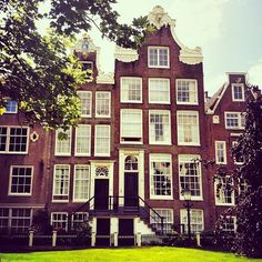 Begijnhof in Amsterdam, Noord-Holland