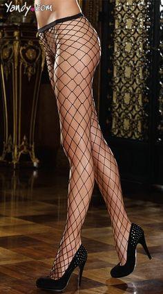 Diamond Net Pantyhose