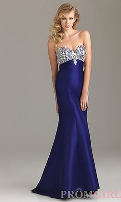 This would look great for he Marine Corps Ball $99.00 from promgirl.com