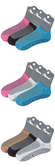 Socks 66078: Shashi Mesh Non-Slip Fitness Socks For Pilates Barre Yoga Dance 3 Pack -> BUY IT NOW ONLY: $42.99 on eBay!
