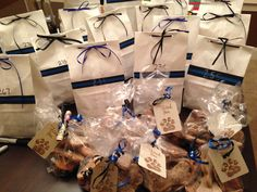 goodie bags for our officers…2 and 4 legged
