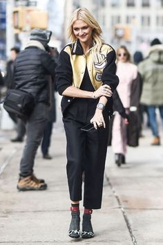 Get inspired with 20 glamorous black and gold outfits to wear this winter.