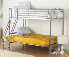 alaska futon bunk bed with futon  u2013 next day delivery alaska futon bunk bed with futon from worldstores  everything for the home dorel twin over futon contemporary bunk bed   walmart     want      rh   pinterest